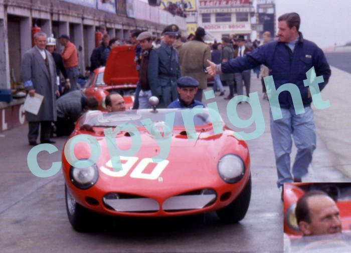 1000 km Nurburgring 1962. Ferrari Serenissima