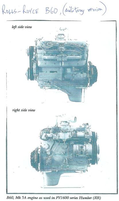 Rolls-Royce B60 (military version)