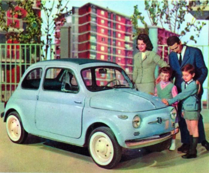 L'AISA per i sessant'anni della Fiat  500