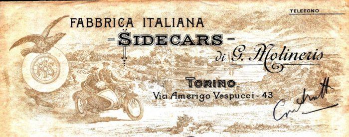 STORIA DELLA F.I.S. – FABBRICA ITALIANA SIDECAR