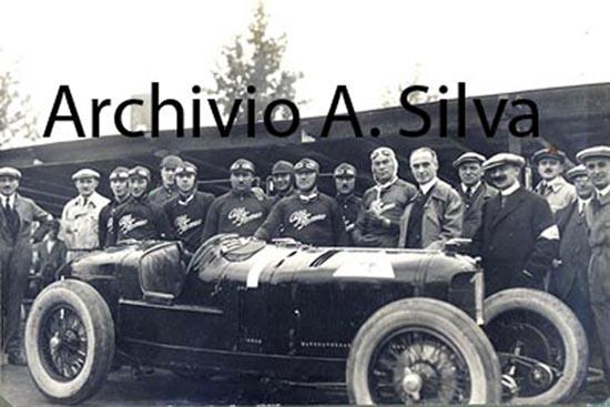 Foto di Gruppo Alfa Romeo 1924. Identificazione